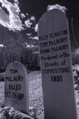 OK Corral gunfight victim's grave, Boot Hill, Tombstone, Arizona