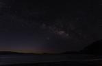 Milky Way pre-dawn over Playa Cocos, Bahia Concepsion, Baja California Sur, Mexico