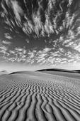 Sand Dunes north of Guerrero Negro, Baja California Norte, Mexico