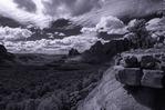Vista above Schnebley Hill Road, Sedona, Arizona