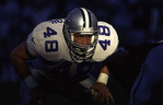 Daryl Johnston, Dallas Cowboys fullback, playing against the Arizona Cardinals, Tempe, Arizona