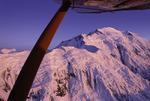 Alpenglow on Mt. McKinley (Denali), Denali National Park, Alaska