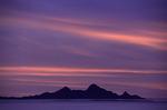 Sunrise over Isla Danzante, Baja California Sur, Mexico