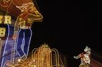 Vegas Vic and Vegas Vicky, (prior to the Fremont Street Experience), Las Vegas, Nevada