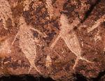 Petroglyphs of whales, near Santa Rosalia, Baja California Sur, Mexico
