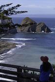 Sea arch at Greenwood Cove State Beach, Elk, Mendocino, California