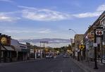 Eastbound Route 66 through Williams, Arizona
