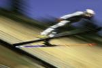 US Olympic Team ski jump practice, Park City, Utah
