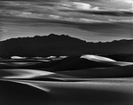 Gypsum sands at twilight, White Sands National Park, New Mexico
