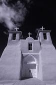 Adobe walls, Church of St. Francis of Assisi, Ranchos de Taos, New Mexico