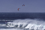 Windsurfing at Hookipa Beach Park, Paia, Maui, Hawaii