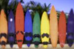 Surfboard fence, Paia, Maui, Hawaii