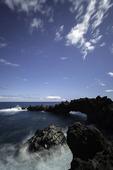 Sea arch, Wainapanapa State Park, Hana, Maui, Hawaii