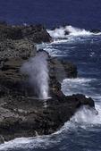 Blowhole near Highway 30, Maui, Hawaii