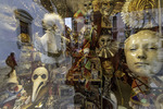 Carnaval masks for sale, San Marco, Venice