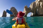 Kayaking by El Arco, Cabo San Lucas, Baja California Sur, Mexico