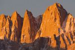 Mt. Whitney at sunrise, from the Alabama Hills, California