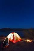 Camping under the  stars at Arizona Bay, Colorado River, Arizona