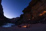 Camping at Big Dune, Grand Canyon NP, Arizona