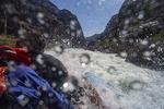 Running Lava Falls Rapid on the Colorado River, Grand Canyon National Park, Arizona