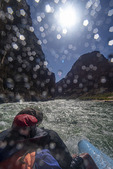 Running Son of Lava Falls Rapid, Grand Canyon NP, Arizona