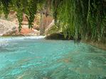 A swim in grotto on Havasu Creek, Grand Canyon National Park, Arizona