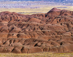 Badlands in Beautiful Valley, Navajo Reservation, Arizona