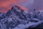 Mt.Sneffels and sunset light
