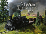 Cover of the Steam Trains 2009 Calendar