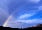 Rainbow in the San Juan Mountains, Colorado
