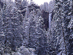 Treasure Falls and Spring snow, San Juan National Forest, Colorado