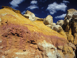 Rock formations, Paint Mines Interperative Park, Colorado