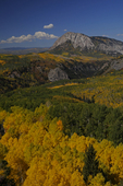 Marcellina Mountain and Fall Colors, Gunnison National Forest, Colorado
