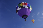 Hot-air balloons, Snowdown 2012, Colorado