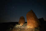 Hovenweep Castle and the night sky, Hovenweep National Monument, Utah