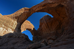 Double Arch, The Windows Section, Arches National Park, Utah