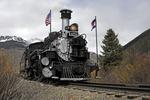 Steam locomotive No.473, Durango & Silverton Narrow Gauge Railroad, Colorado