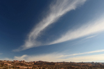 Cirrus Clouds over Arches National Park, UT