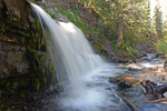 A waterfall on Ruby Anthracite Creek, Gunnison National Forest, Colorado