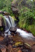 A waterfall on Deer Creek, Gunnison National Forest, Colorado