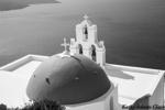 belfry; Church; Fira; Greece; Santorini