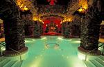The main spa pool at the Grove Park Inn Resort & Spa in Asheville, North Carolina.