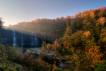 Salmon River Falls in autumn, New York, USA
