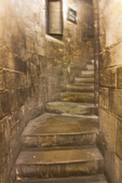 Interior stairway leading to the dome, Santa Maria del Fiore, il Duomo, Florence, Firenza, Italy,Florence, Firenza, Italy,