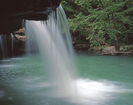 Arkansas, Ozark National Forest, Falling Water Falls, (view 3)