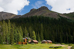 Colorado, Gunnison National Forest, San Juan Mountains, ghost town of Carson