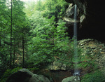 Kentucky, Big South Fork National River and Rec. area, Yahoo Falls, Highest in Kentucky (113')