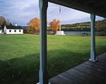 Michigan, Keweenaw National Historical Park, Fort Wilkins State Park, Parade ground, Keweenaw Peninsula, Upper Peninsula