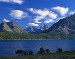 Montana, Glacier National Park, St. Mark Lake