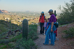 Arizona, Phoenix, Phoenix Mountains Park, Piestewa Peak area, hiking,